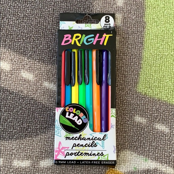 Greenbrier International, Inc. Other - Mechanical Colored Pencils Bright Colors (8 Pack)
